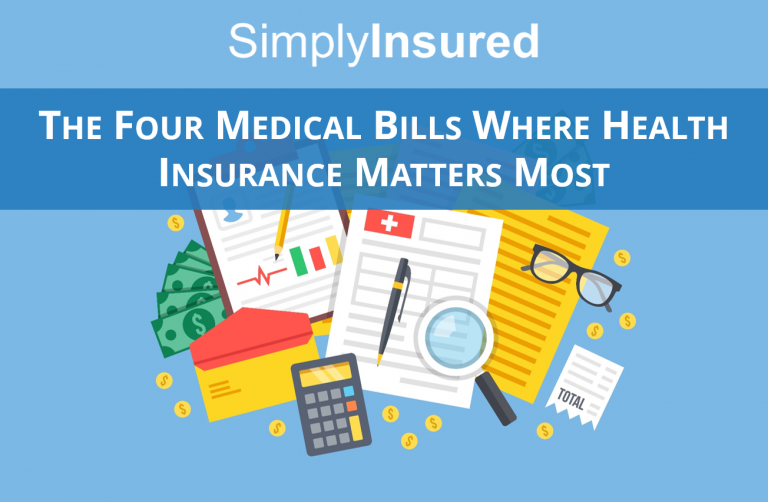 The Four Medical Bills Where Health Insurance Matters Most